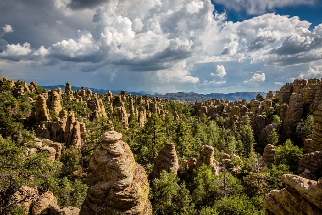 Chiricahua National Monument / One of the best Arizona road trip stops for outdoor enthusiasts.