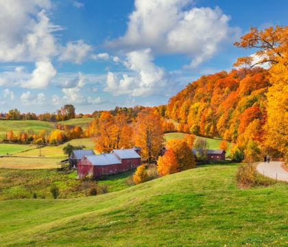 Plan your Vermont Fall Foliage road trip with our guide on where see the best fall colors including scenic leaf-peeping drives and more.