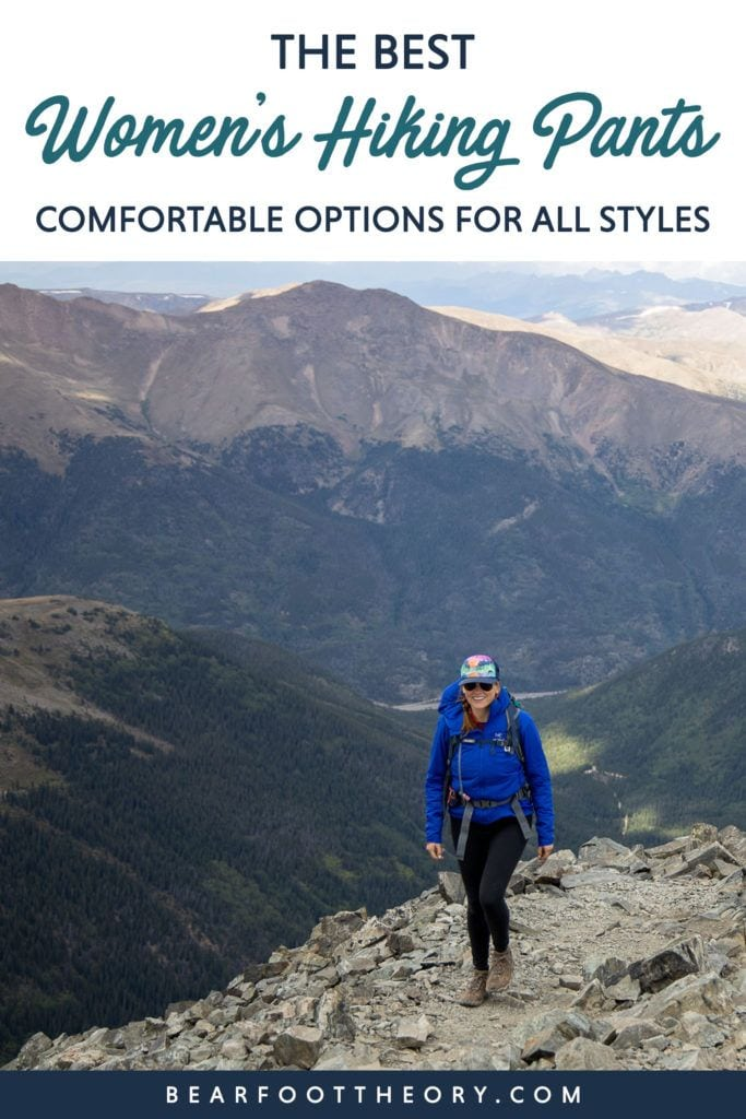 Discover the best women's hiking pants for your next trail adventure including full-length pants, zip-off convertibles, leggings, and capris.