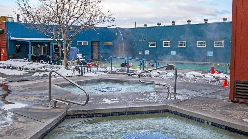 Carson Hot Spring Resort // Check the map, grab your (birthday) suit, and head to one of these best hot springs in Nevada for the ultimate natural soak.
