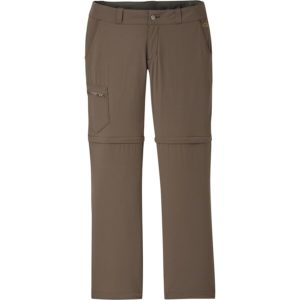 Outdoor Research Ferrosi Convertible Pant // Discover the best women's hiking pants for your next trail adventure including full-length pants, zip-off convertibles, and capris.