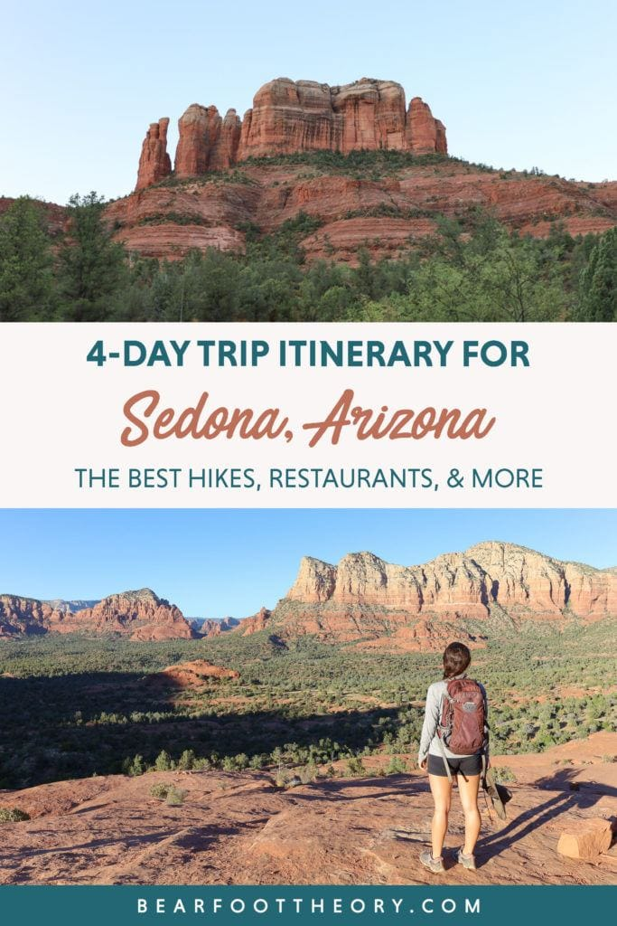 Plan your next adventurous Sedona trip with this 4-day Sedona itinerary including the best hikes, restaurants, and things to do!