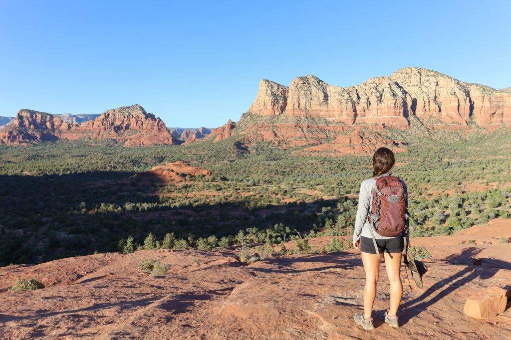 Bell Rock Trail // Plan your next adventurous Sedona trip with this 4-day Sedona itinerary including the best hikes, restaurants, and things to do!