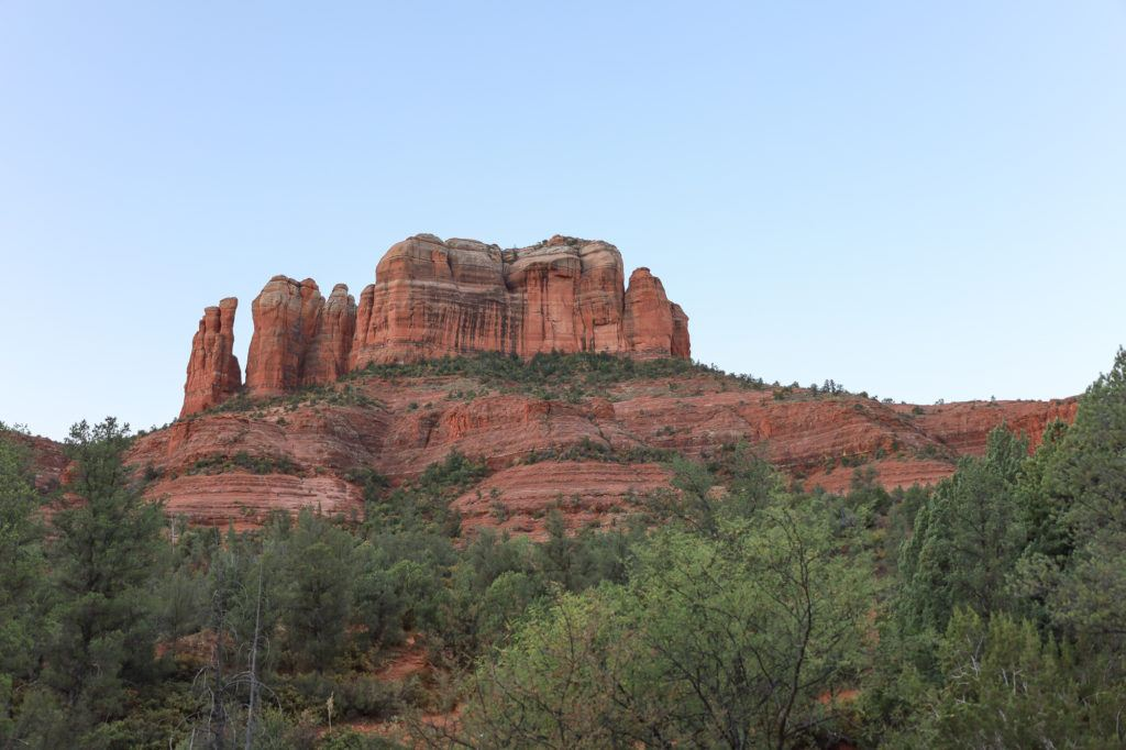 Cathedral Rock // Plan your next adventurous Sedona trip with this 4-day Sedona itinerary including the best hikes, restaurants, and things to do!