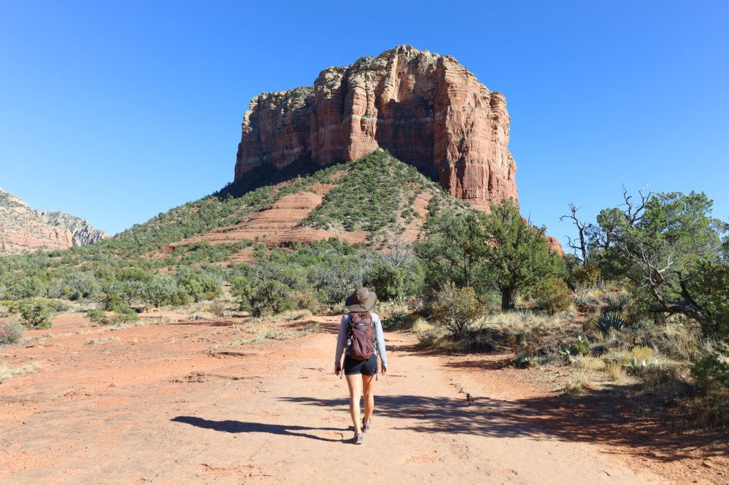 Courthouse Butte Loop // Plan your next adventurous Sedona trip with this 4-day Sedona itinerary including the best hikes, restaurants, and things to do!