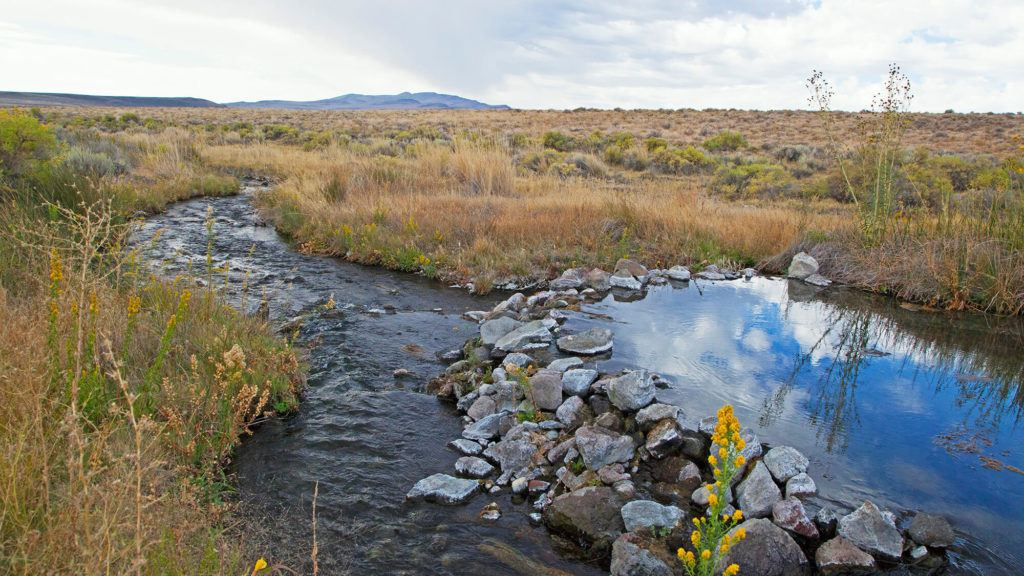 Soldier Meadows Hot Springs // Check the map, grab your (birthday) suit, and head to one of these best hot springs in Nevada for the ultimate natural soak.