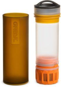 Grayl Ultralight Compact Water Purifier Bottle // Learn from a seasoned thru-hiker how to choose the best lightweight backpacking water filter or purification system for your next adventure.
