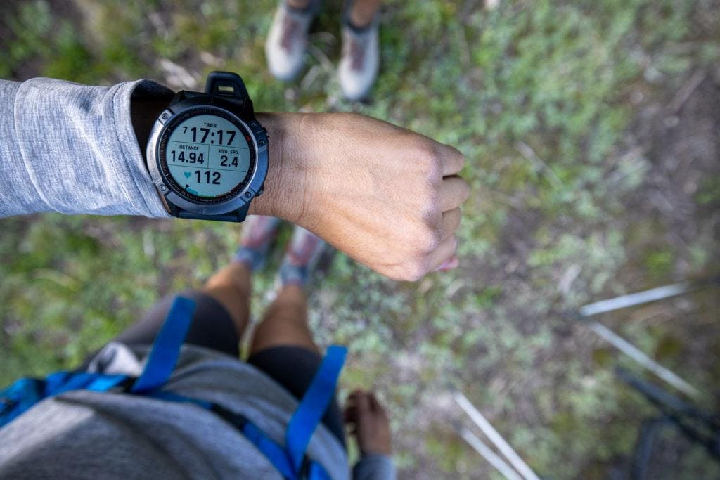 Garmin Fenix 6s Watch // One of the best gifts for outdoor adventurers, hikers, backpackers, and outdoor athletes in 2020.