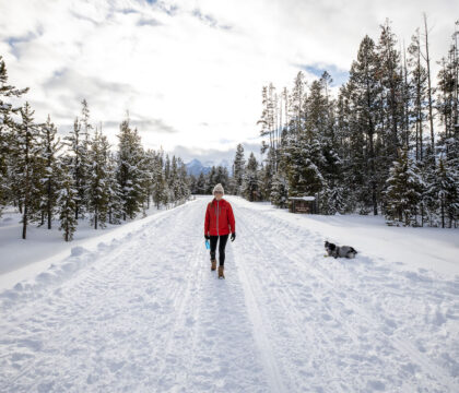 Learn the essentials of what to wear hiking in the winter and some tips for layering for cold, snowy weather