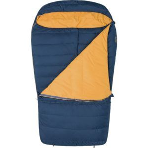 Marmot Zuma Double Sleeping Bag // One of the best budget friendly double sleeping bags for camping