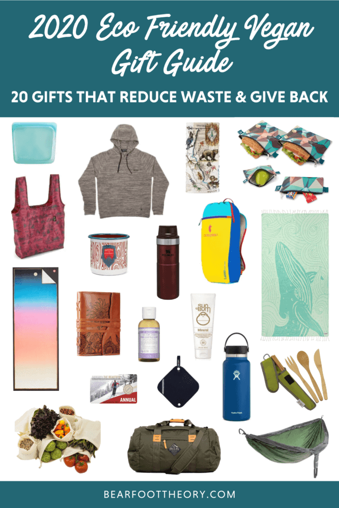 Looking for the best eco-friendly vegan gifts for the outdoor lovers in your life? Browse our list of our favorite eco-minded gifts for 2020.