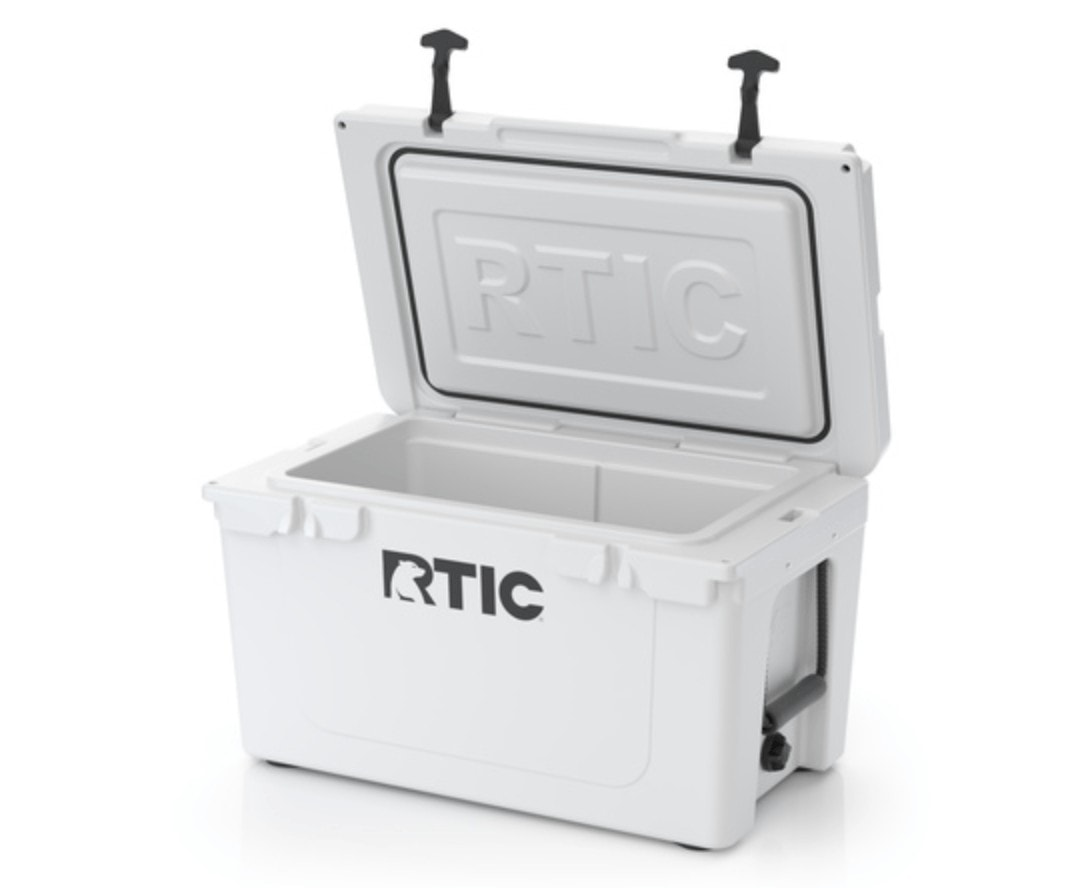 RTIC 45 Quart Cooler // Find the ultimate gifts for outdoor lovers with our 2020 holiday gift guide featuring ideas for hikers, van lifers, travelers, skiers & more.