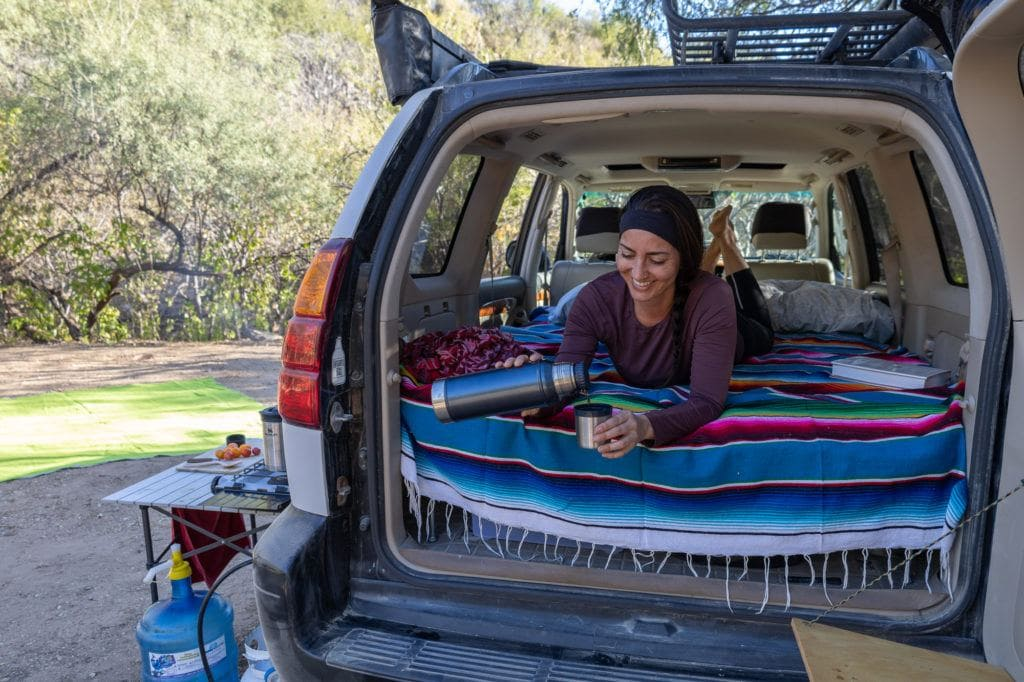 Stanley camp cookware // Learn how to reduce waste while car camping