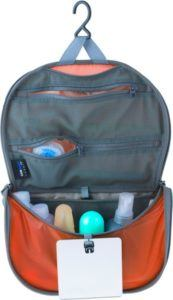 Sea to Summit Hanging Toiletry Bag // Planning an epic car camping trip? Use this car camping packing checklist to narrow down what you need and avoid forgetting the essentials.