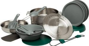 Full Kitchen Base Camp Cookset // Check out the best camp cookware and drinkware gifts for camping and van life by Stanley for gifts that will last a lifetime.