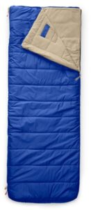 The North Face Trail Bed Sleeping Bag // Planning an epic car camping trip? Use this car camping packing checklist to narrow down what you need and avoid forgetting the essentials.
