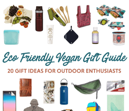 Looking for useful, eco-friendly gifts for the outdoor enthusiast in your life? Check out this list of our favorite sustainable, eco-minded gifts for 2020.