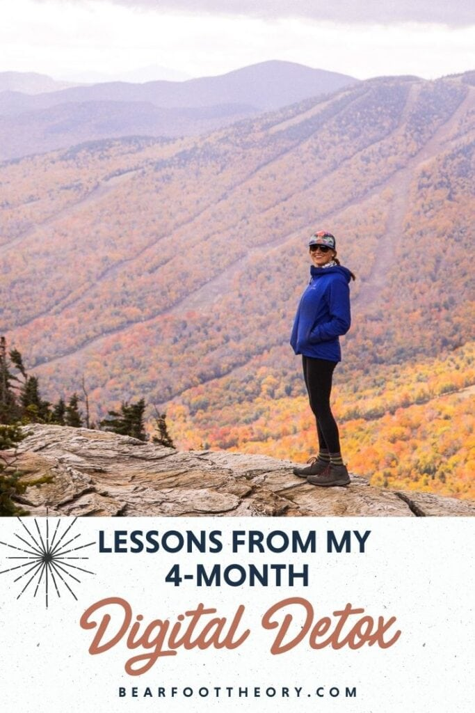 Feel like you need a digital detox? I hear you! Read the six best lessons I took away from my four-month social media break.