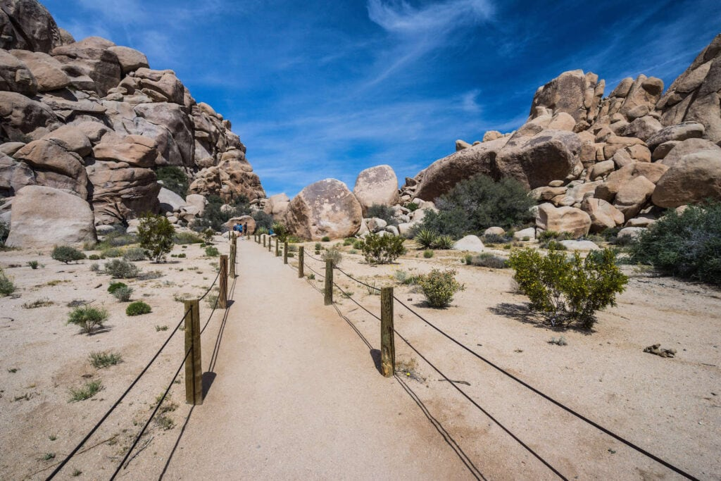 Hidden Valley Trail // Headed to Joshua Tree National Park for the first time? Here's details on the 3 best Joshua Tree hikes, plus info on where to stay during your trip