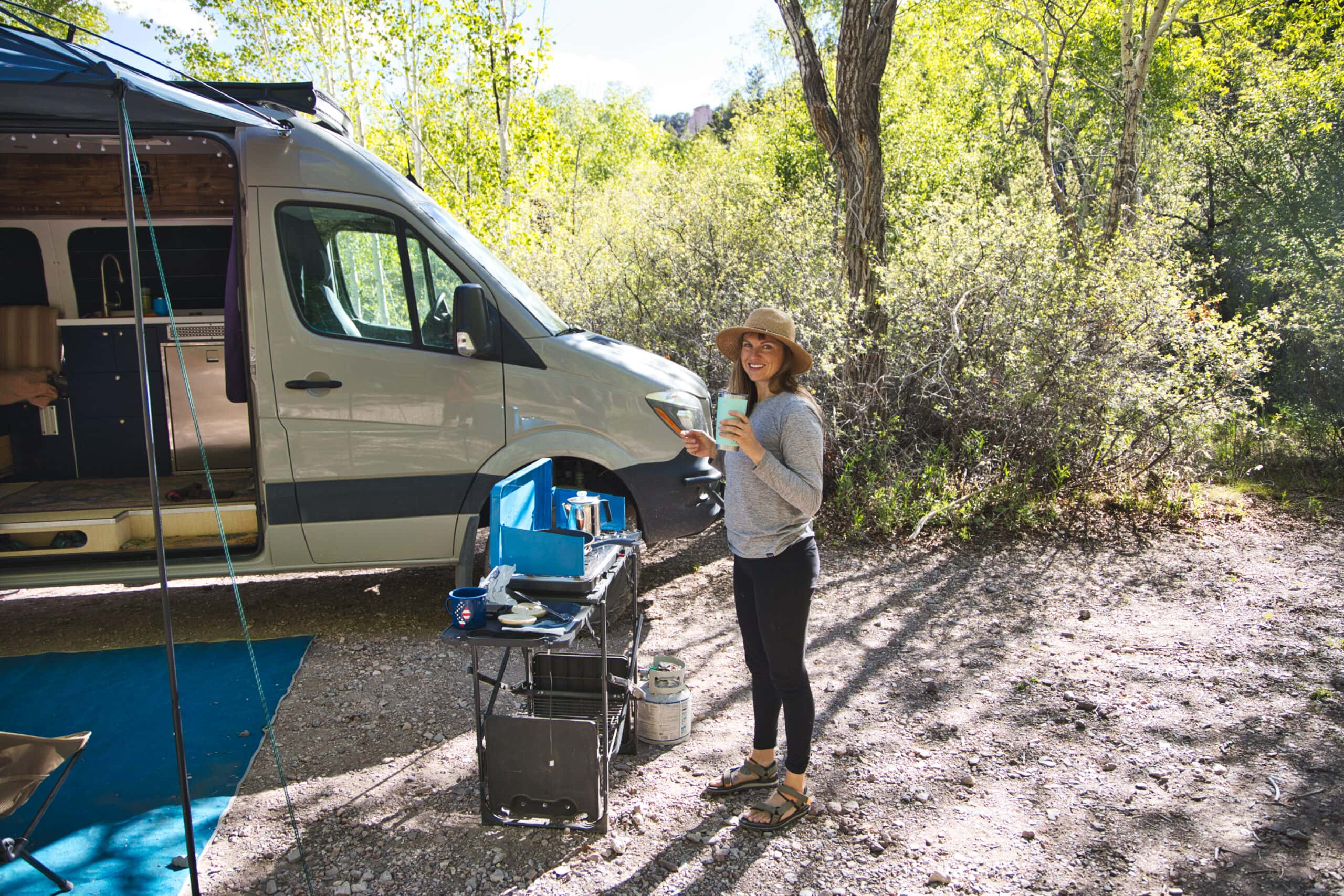 Camp Cooking Kitchen Essentials for Camping & Van Life