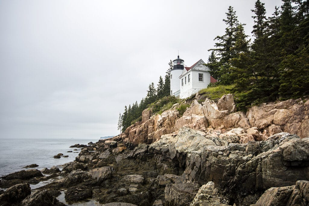 Bass Harbor Head Lighthouse / Here are the top things to do in Acadia National Park in Maine including the best hiking trails, scenic drives, eats, sights, and more.