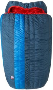Big Agnes King Solomon double sleeping bag / Get cozy with the best dual sleeping bags including warm, comfortable two person options ideal for camping and backpacking.