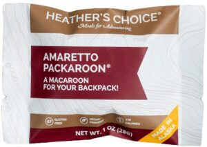 Heather's Choice Packaroons // Simple lightweight backpacking food ideas from breakfast to dinner. These are delicious, easy to prepare & require little cleanup.