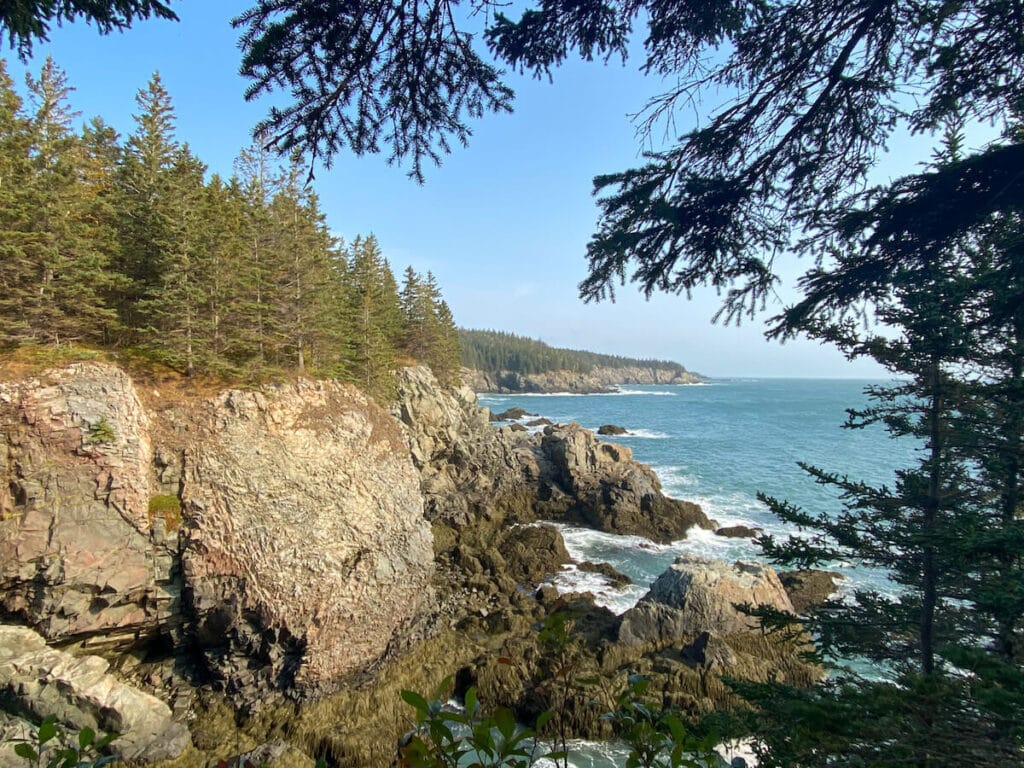 Trail along Maine's Bold Coast // This backpacking guide features the Cutler Coast trail, an overnight trip or long day hike