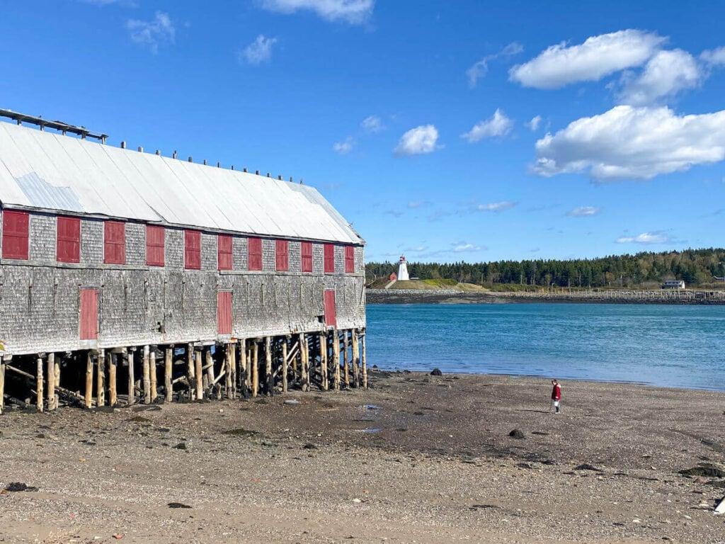 Lubec, Maine coastline
