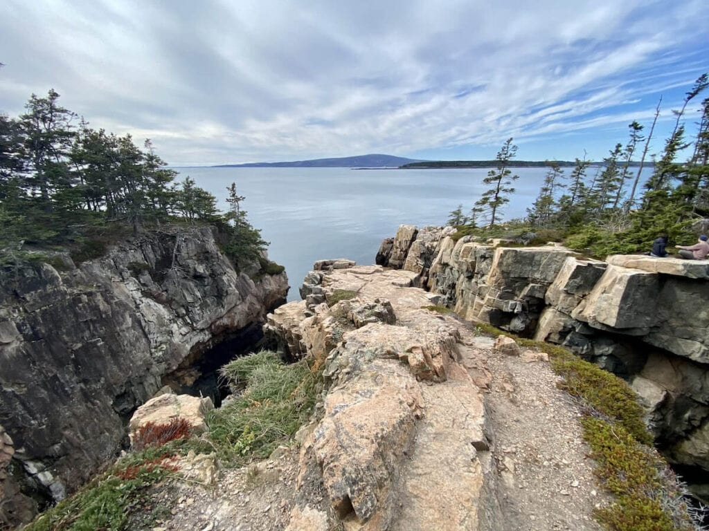 Schoodic Peninsula in Acadia National Park offers a great coastal Maine drive and great hiking
