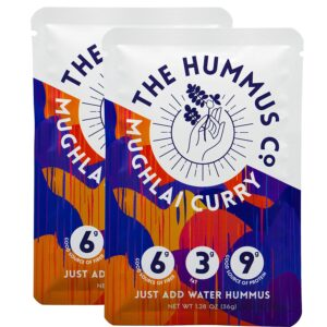 The Hummus Co Powdered Hummus // Best lightweight vegan backpacking food ideas from breakfast to dinner. These are delicious, easy to prepare & require little cleanup.