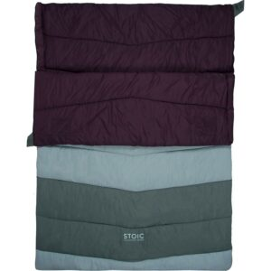 Stoic Groundwork / a versatile, budget friendly double sleeping bag for two people