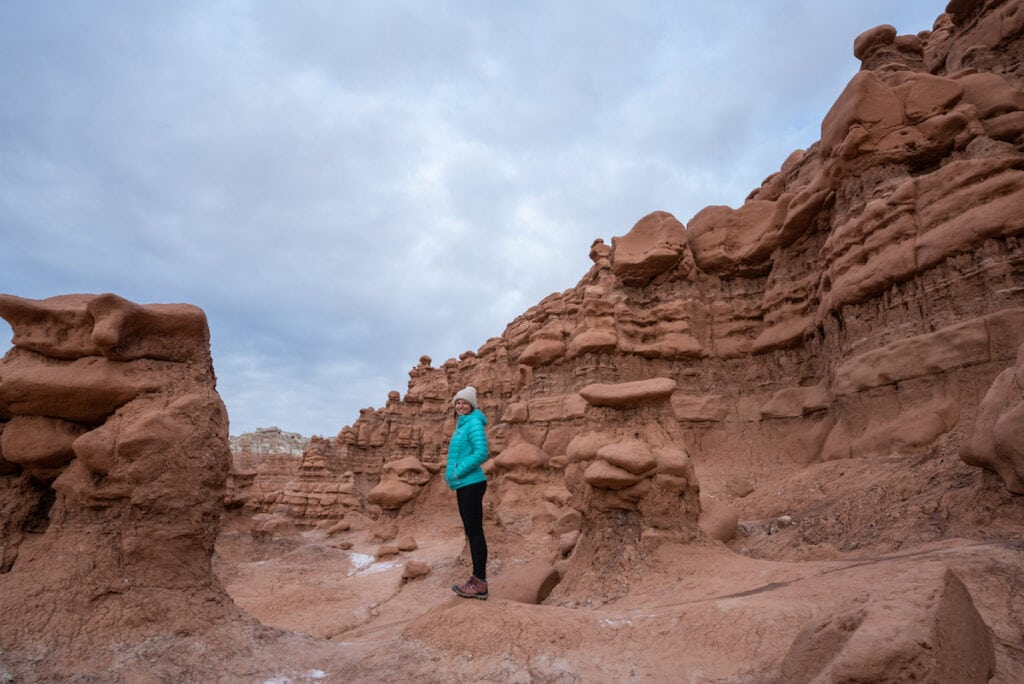Hiking in Goblin Valley State Park