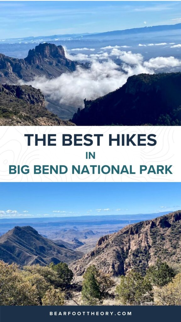 This guide to the top Big Bend hikes in the National Park includes distances, elevation gain, hiking trail descriptions, and more.