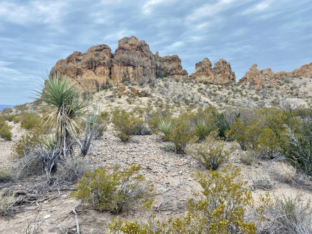 Chimneys Trail // one of the top trails for Big Bend National Park hiking