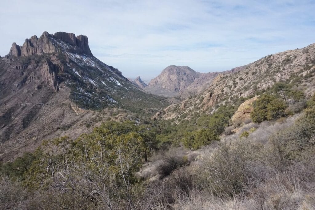 Chisos Mountains Lost Mine trail - one of the best Big Bend hikes in the National Park