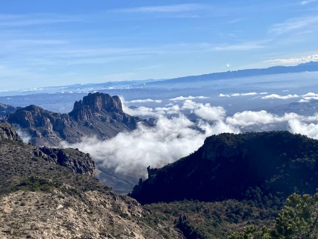 Emory Peak / This guide to the top Big Bend hikes in the National Park includes distances, elevation gain, hiking trail descriptions, and more.