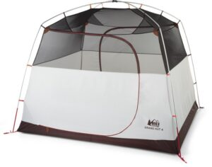 REI Grand Hut 4 Tent // Planning an epic car camping trip? Use this car camping packing checklist to narrow down what you need and avoid forgetting the essentials.