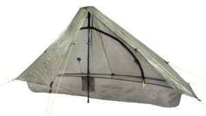 Zpacks Plexamid Tent // One of the best ultra lightweight 1-person tents for backpacking