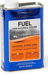 Alcohol stove fuel
