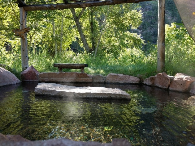 Gila Hot Springs Campground in New Mexico