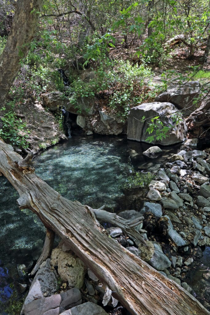 Jordan Hot Springs in Southern New Mexico // hike or backpack in Gila Wilderness to find these epic pools