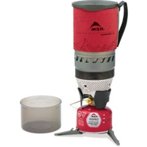 MSR WindBurner Stove System / Check out the best backpacking stoves and learn the pros and cons of canister, liquid fuel, and alternative fuel options, plus how to choose.