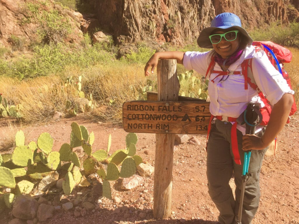 Hiking photo // This article provides tips on how to be an ally to people of color outdoors