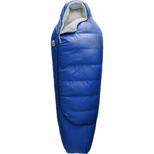 North Face Eco Trail 20 is one of the best eco friendly backpacking sleeping bags ans uses recycled materials