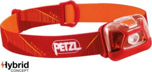 Petzl Tikkina Headlamp // Looking for the budget outdoor gear? Here is the best cheap backpacking gear and my top tips for buying quality, inexpensive gear.