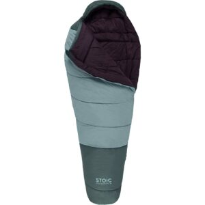 Stoic Groundwork Sleeping Bag // Looking for the budget outdoor gear? Here is the best cheap backpacking gear and my top tips for buying quality, inexpensive gear.