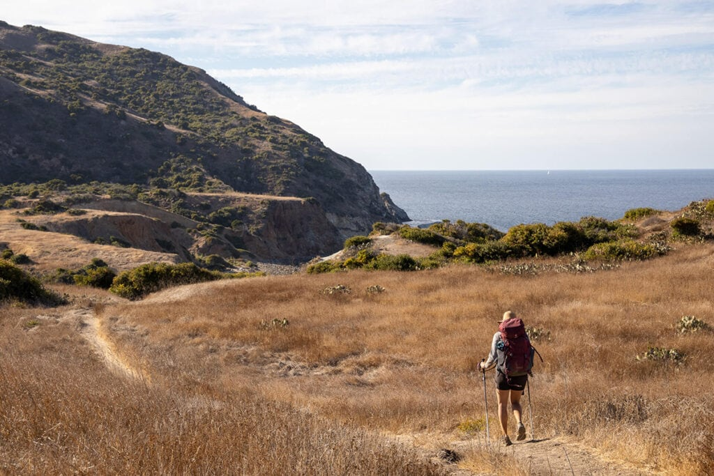 Trans Catalina Trail / Learn how to plan a backpacking trip! From how to pick a trail to what gear to pack, this guide covers all the important planning steps.