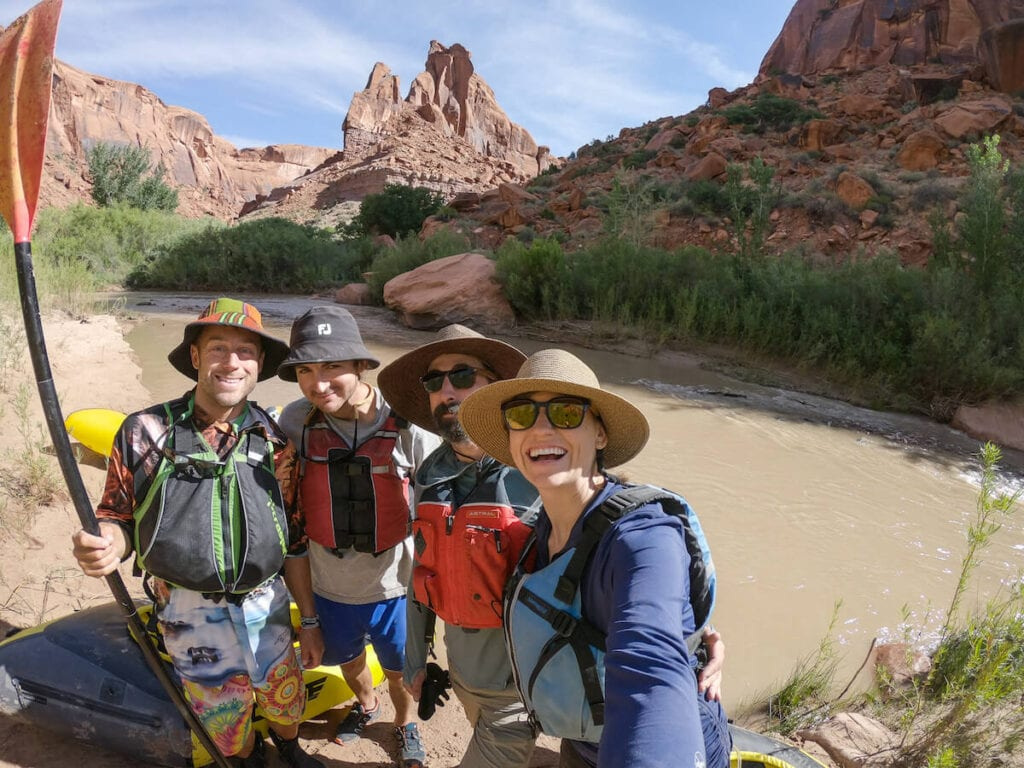Paddling near Escalante // renting gear from REI is one of the best REI Member perks