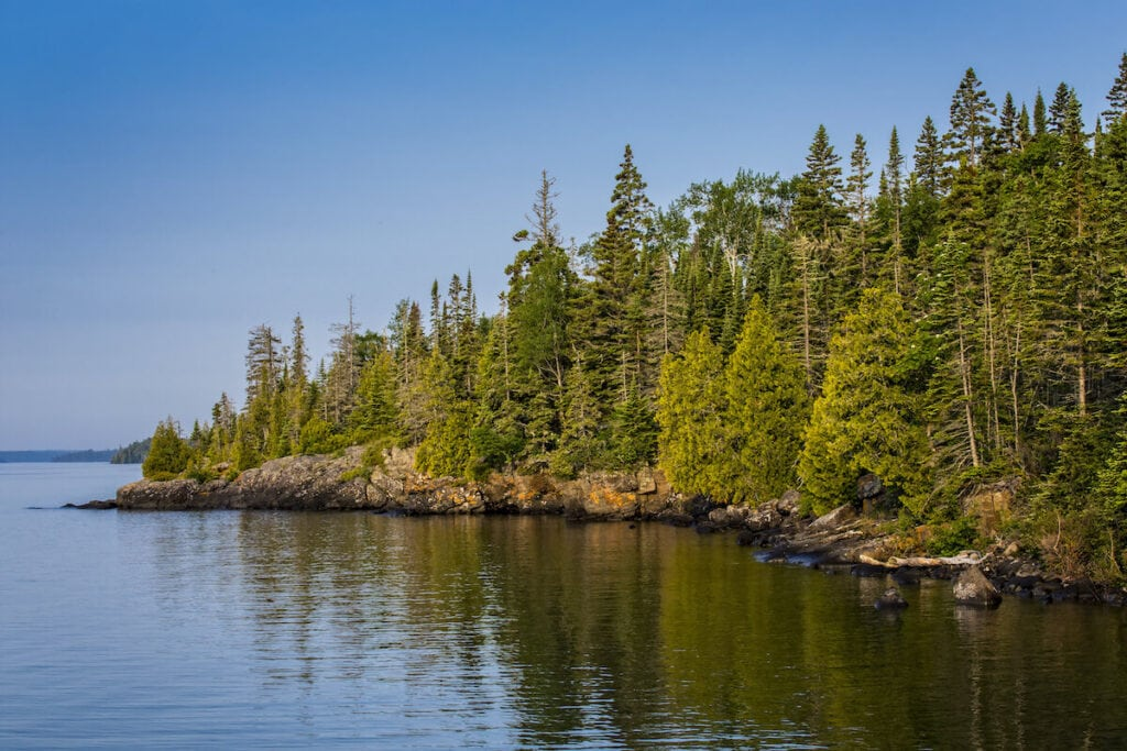 Isle Royale National Park Michigan // Plan your Michigan road trip with this guide to the best stops for outdoor adventure, including the Upper Peninsula and Western Michigan.